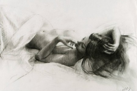 女性身体勾勒美丽女性优美曲线