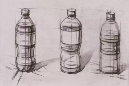 矿泉水瓶结构示意图