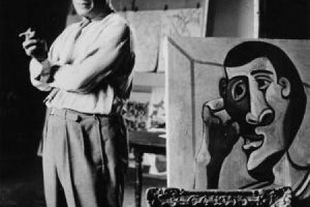 毕加索作品生活照片介绍