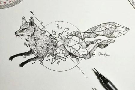 科尔比·罗斯尼斯美丽的手绘创意素描