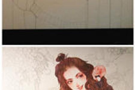 超美的手绘线描水彩颜料