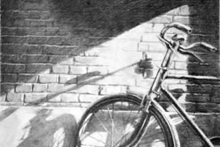 自行车草图创意设计草图