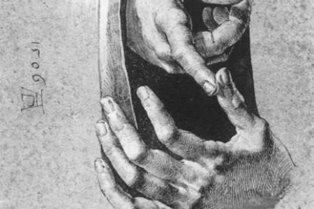 大师们画的手真漂亮。