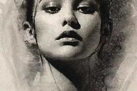 凯西·鲍克素描:美丽女人的九幅画像
