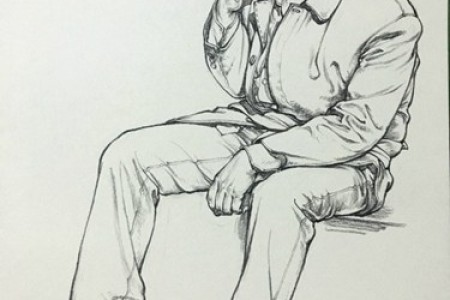 赵建华小品:不同坐姿组合人物小品