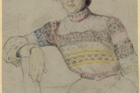 俄罗斯画家鲍里斯·斯米尔诺夫的人物素描