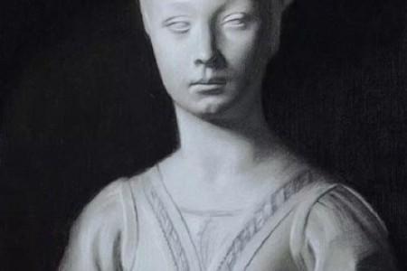 佛罗伦萨艺术学院学生石膏素描作品