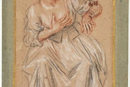 安东尼·华多大师的素描欣赏