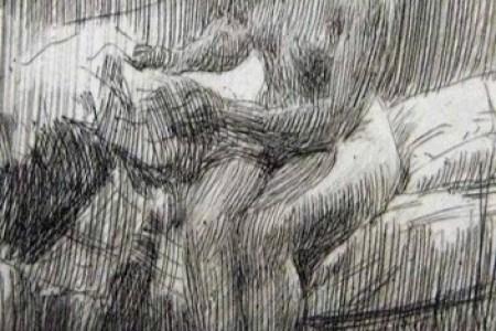 左恩大师的素描感受轻松愉快的线条魅力