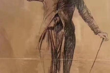 卓别林的素描