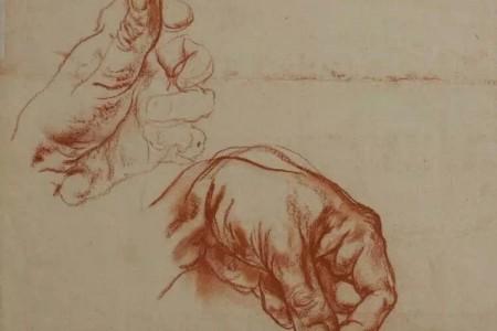 布洛欣大师关于素描者各种动态姿势的作品