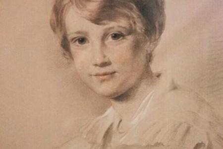 英国职业肖像画家:乔治·里士满素描肖像欣赏