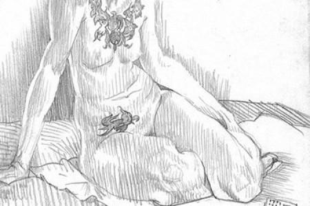 贾森·考特尼人体素描欣赏