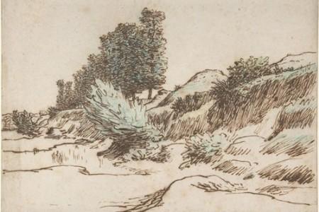让·弗朗索瓦·米勒的16幅风景素描,风景素描大师