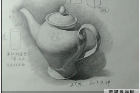 美国西部唐贤素描基础与静物画欣赏