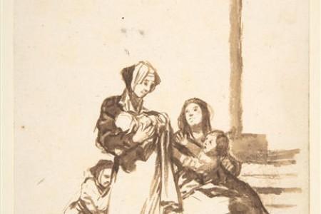 大师素描高清图片欣赏弗朗西斯科·何塞·德·戈雅-卢西恩特斯