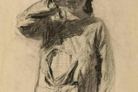 王式廓人物素描精选欣赏中国素描大师作品