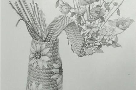 宋田强创作的花卉素描对静物画的贡献