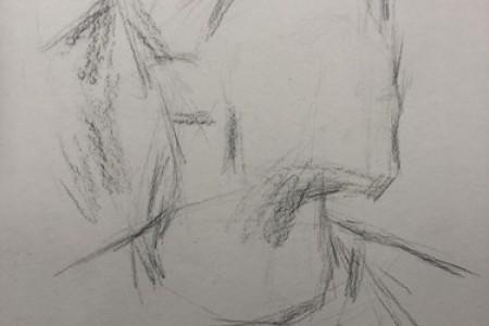 德里克·罗斯·德里克·罗斯素描头像视频绘制步骤