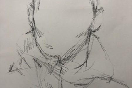 凯里·欧文的素描头像视频绘画及其步骤