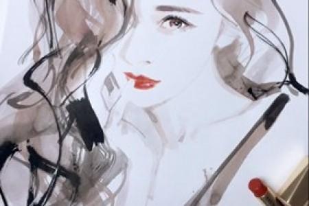 迷你杨水彩画手绘草图视频高清大图可作为手机壁纸
