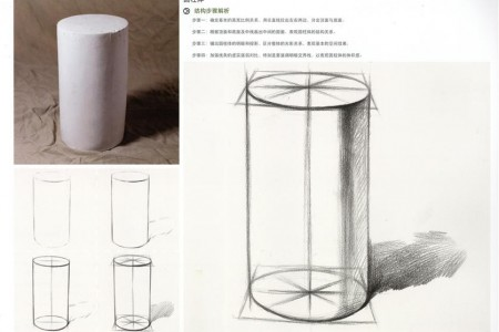 圆柱体草图结构分析图