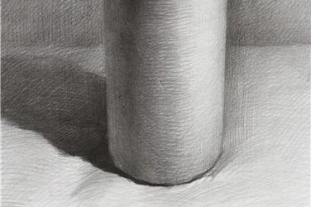 圆柱体草图的四步图适合初学者复制。