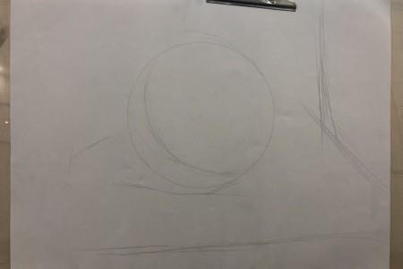 草图几何:球体绘制分析的六个步骤