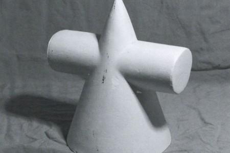 带插入体的圆柱圆锥的绘制过程