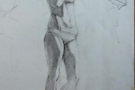 从观察到绘画学生的一些实践作品