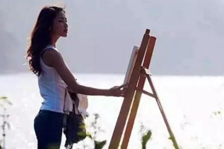 你认为学习艺术是这样的吗?事实上,是的...