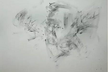 朱凯多面光源中年男性素描画像