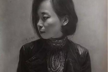 刘泰然素描作品赏析