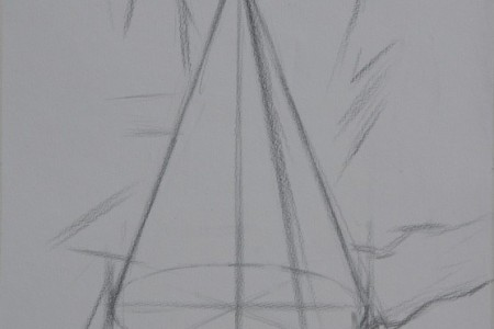 石膏几何:锥形制图课程