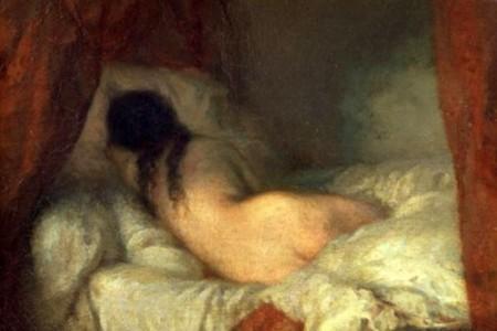 让·弗朗索瓦·米勒素描油画作品介绍(4)