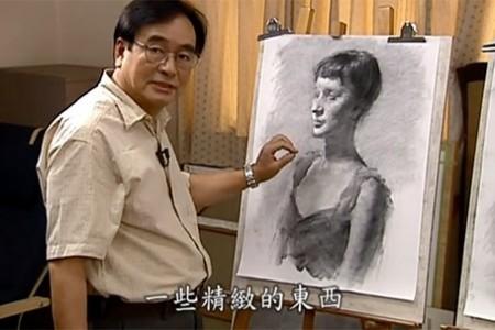 冉毛琴:画男性头像的视频课程(下)