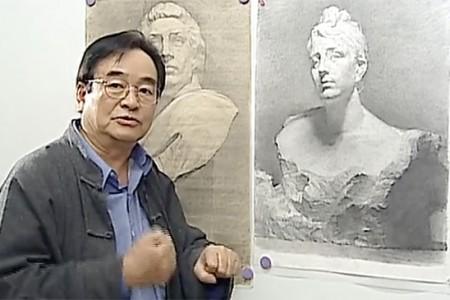 冉毛琴素描石膏视频教程(二)