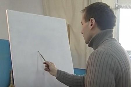 列宾美术学院素描头像教学视频