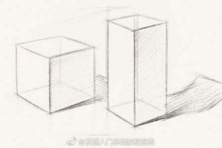 初学素描:石膏整体组合透视与光影课程