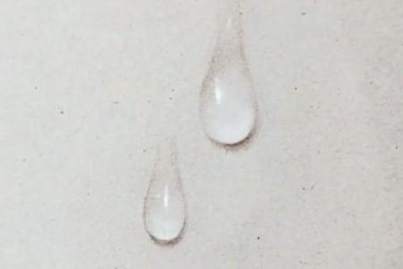 我将教你如何用铅笔画出三维的小水滴,它的纹理清晰逼真。