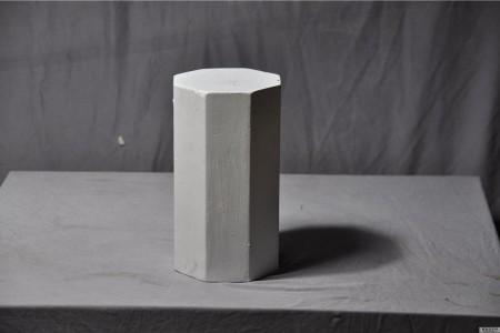石膏几何:八角棱镜超高清图片