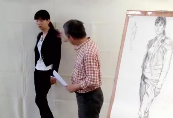 吴宪生说素描第五集:半身像全身像人物素描讲解视频
