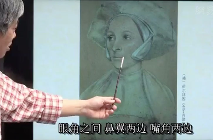 吴宪生说素描第四集:头像素描是一个从低级阶段向高级阶段过渡